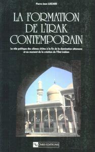 Livre numérique La formation de l'Irak contemporain