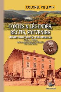 Livre numérique Contes & Légendes, Récits, Souvenirs (oeuvres dialectales en patois mosellan) : Tome 2 (prose)