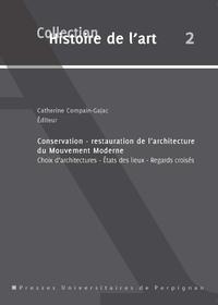Livre numérique Conservation-restauration de l'architecture du mouvement moderne