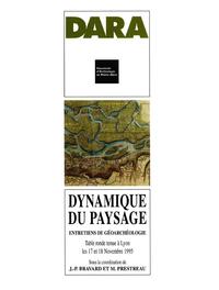 Electronic book Dynamique du paysage