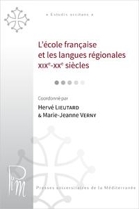 Livre numérique L'école française et les langues régionales