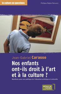 Livre numérique Nos enfants ont-ils droit à l'art et à la culture ?