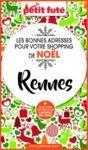 Electronic book SHOPPING DE NOËL À RENNES 2020 Petit Futé