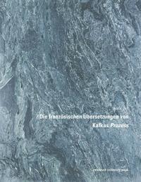 Livre numérique Die französischen Übersetzungen von Kafkas Prozess
