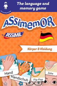 Electronic book Assimemor – My First German Words: Körper und Kleidung