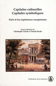 Livre numérique Capitales culturelles, capitales symboliques