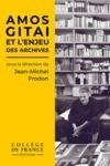 Livro digital Amos Gitai et l'enjeu des archives