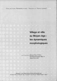 Livre numérique Village et ville au Moyen Âge