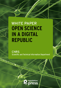 Electronic book White Paper — Open Science in a Digital Republic