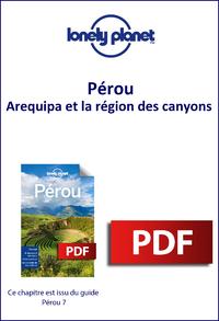 Livre numérique Pérou - Arequipa et la région des canyons