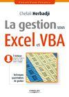 Livre numérique La gestion sous Excel et VBA
