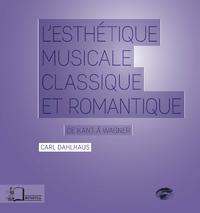 Livre numérique L'Esthétique musicale classique et romantique
