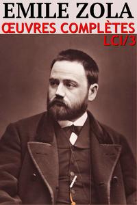 Livre numérique Emile Zola - Oeuvres complètes