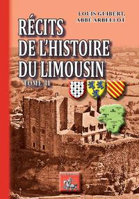 Livre numérique Récits de l'Histoire du Limousin (Tome 2)