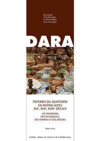 Livre numérique Poteries du quotidien en Rhône-Alpes (XVIe, XVIIe, XVIIIe siècles)