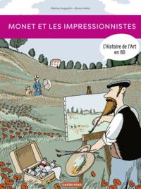 Livre numérique L'Histoire de l'Art en BD - Monet et les Impressionnistes