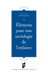 Livre numérique Éléments pour une sociologie de l'enfance