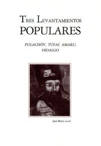 Livre numérique Tres levantamientos populares