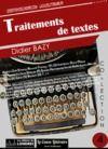 Livre numérique Traitements de textes