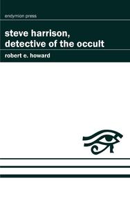 Livre numérique Steve Harrison, Detective of the Occult