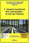 Livre numérique L'impact territorial des universités : le cas de l'Alsace