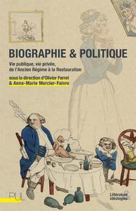 Livre numérique Biographie & Politique