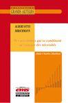 Livre numérique Albert Otto Hirschmann - Des possibilités qui se combinent ne sont pas des nécessités