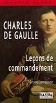 Livre numérique Charles de Gaulle - Leçons de commandement