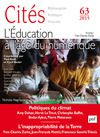 Livre numérique Cités 2015 - N° 63