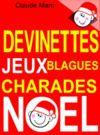 Livre numérique Devinettes et blagues de Noël. Charades, jeux de lettres et jeux de mots.