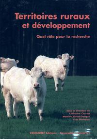 Livro digital Territoires ruraux et développement. Quel rôle pour la recherche ?