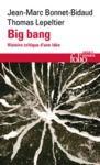Livre numérique Big bang. Histoire critique d'une idée