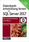 Livre numérique Datenbankentwicklung lernen mit SQL Server 2017