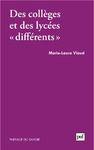 Livre numérique Des collèges et des lycées différents