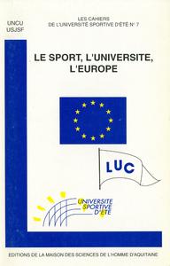 Livre numérique Le sport, l'université, l'Europe