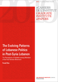 Electronic book The Evolving Patterns of Lebanese Politics in Post-Syria Lebanon