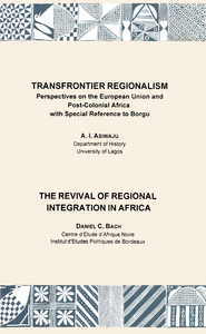 Electronic book Transfrontier Regionalism. The Revival of Regional Integration in Africa