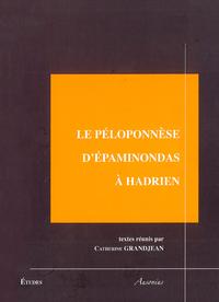 Livre numérique Le Péloponnèse d'Épaminondas à Hadrien