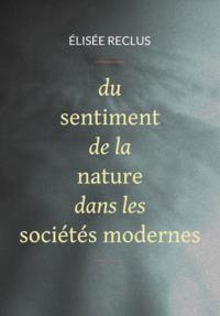 Livre numérique Du sentiment de la nature dans les sociétés modernes