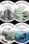 Livre numérique Jules Verne - Romane (20.000 Meilen unter den Meeren - In 80 Tagen um die Welt - Reise zum Mittelpunkt der Erde - Von der Erde zum Mond)