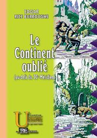 Livre numérique Le Continent oublié (au-delà du 30e Méridien)
