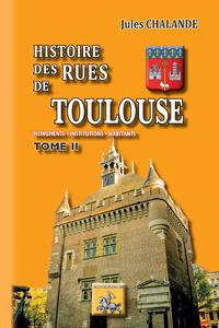 E-Book Histoire des Rues de Toulouse (Tome 2)
