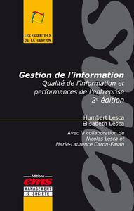 Livre numérique Gestion de l'information