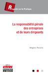 Livre numérique La responsabilité pénale des entreprises et de leurs dirigeants