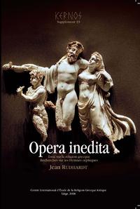 Livre numérique Opera inedita