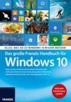 Livre numérique Das große Franzis Handbuch für Windows 10
