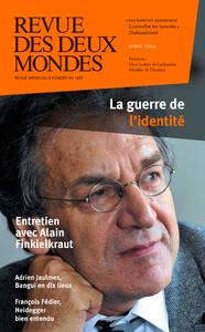 Livre numérique Revue des Deux Mondes avril 2014