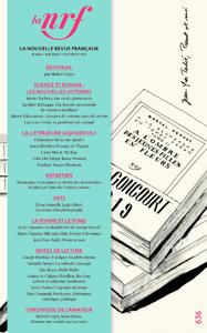 Livre numérique La Nouvelle Revue Française N° 636