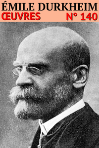Livre numérique Émile Durkheim - Oeuvres