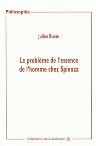 Livre numérique Le problème de l'essence de l'homme chez Spinoza